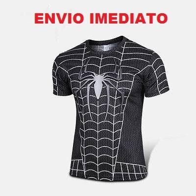9e095e8340fa2 Pronta Entrega - Camisa Marvel Homem Aranha - Preta R 59 lpGUd ...