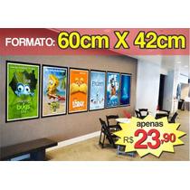 Poster Cartaz De Cinema - Desenho E Animação - 60 X 42 Cm