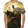 Camiseta League Of Legends Twitch Mafioso Clássico Infantil