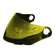 Viseira Colorida Dourada Capacete Pro Tork Evolution G4