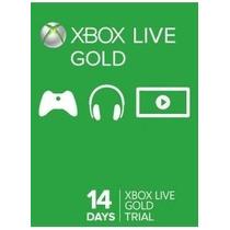 Xbox Live Gold Cartão 14 Dias - Usa E Br Código 25 Dígitos
