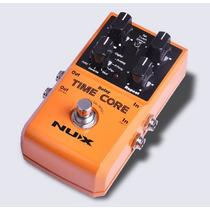 Nux Time Core Digital Delay Pedal De Guitarra Câmara De Eco