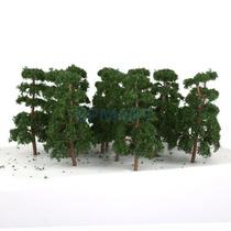 Mini Árvores Escala 1:150 P Ferromodel Maquetes Diorama 20un