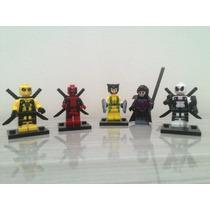 Lego Deadpool Wolverine Gambit Super Heróis Marvel