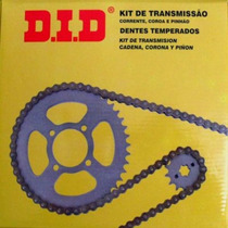 Kit Relação Cg Titan 125 Did - Ano 89-99