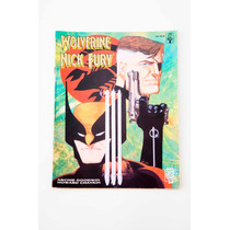 Hq - Wolverine & Nick Fury - Conexão Scorpio