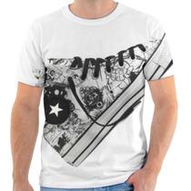Camiseta Camisa Allstar Tênis Estampada Masculina E Feminina