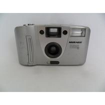 Câmera Máquina Fotográfica Antiga Mirage Titanium Se Coleção