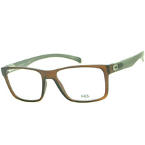 Hb 93108 Armação Óculos De Grau Masculina Retrô Original
