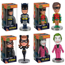 Bobble Head - Batman - Robin - The Joker - Catwoman - Funko