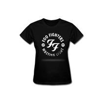 Baby Look Feminina Foo Fighters Camiseta Camisa Banda Rock