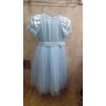 Vestido De Daminha Para Criança De 7 A 9 Anos