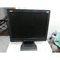 Monitor De Lcd 15 Polegadas Aoc Tft 1560 Ps+ Usado