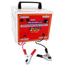 Carregador De Baterias Automotivas 5ah C/ Led De Carga Jts