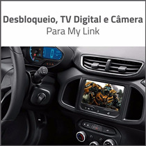 Destravador, Câmera De Ré E Tv Digital My Link S-10 Tracker