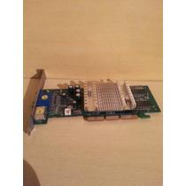 Placa De Vídeo Agp Geforce Nvidia Mx4000 64 Mb Ddr Tv