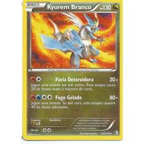 Kyuren Branco (em Português) B&w - Fronteiras Cruzadas