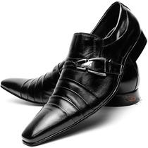 Sapato Social Masculino Preto Stilo Italiano Moderno Frete