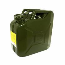 Galão Para Combustível 10 Lts Tipo Jeep Willys Em Metal