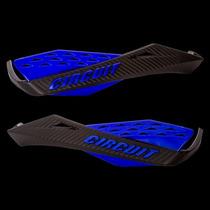 Protetor De Mão Circuit Modelo Fenix Carbon Preto E Azul