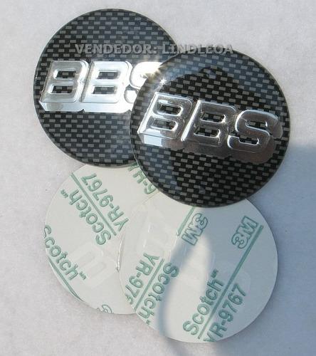 51mm Emblemas Centro Rodas Bbs Rodas Carbono Novos