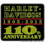 Bordado Harley Davidson 100 Anos 1903 Patch Car318