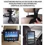 Suporte Veicular Univ. Encosto Banco Tablet Ipad Tvgpstruffi