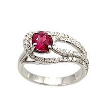 Anel Rubi E Diamantes.. Luxo Exclusivo.