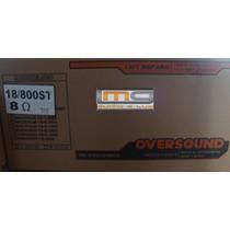 Reparo Alto-falante Oversound 18 /800 St 800 8 Ohms