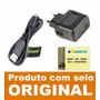 Carregador Original Motorola Cabo Usb Moto G, X, Galaxy V8