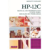 Manual Calculadora Hp12c Em Pdf Português - Envio Por Email