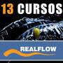 Cursos Real Flow - 13 Dvds - 3ds Max - Maya Zbrush
