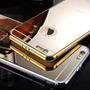 Case Capa Capinha Iphone 5/5s Dourada Espelhada Melhor Preco