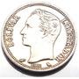 Antiga Moeda 1 Bolivar De Prata 835 Venezuela 1965 M3116