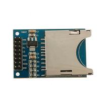 10pcs Arduino Módulo Cartão Sd Compatível Slot De Soquete