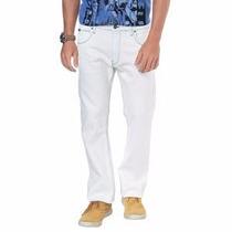 Lee Calça Jeans Claro Off White Branca Original Promoção