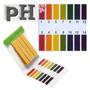 Medidor De Ph 80 Fitas Papel Testar Líquidos Aquário Piscina