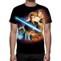 Camisa, Camiseta Star Wars Episódio 2 O Ataque Dos Clones