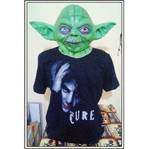 Máscara Mestre Yoda Adulto - Star Wars Frete Grátis