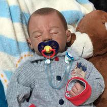 Bebê Que Parece De Verdade - Bebê Reborn - Gustavo