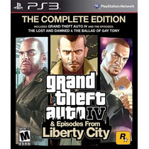 Gta 4 (iv): The Complete Edition Ps3 | Lacrado Mídia Física