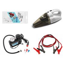 Compressor De Ar + Aspirador + Kit Auto Tramontina