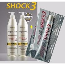 Kit Shock 3 (500ml) + Pomada Shock 3 - Nutra Hair