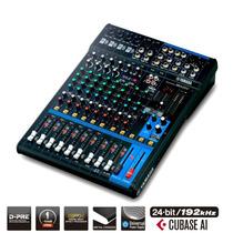 Mesa De Som Mixer Yamaha Mg 12 Xu Usb Canais Com Efeitos