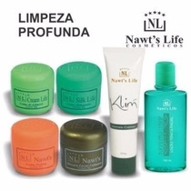 Linha Facial / Nawts Life Kit Limpeza De Pele 6 Produtos
