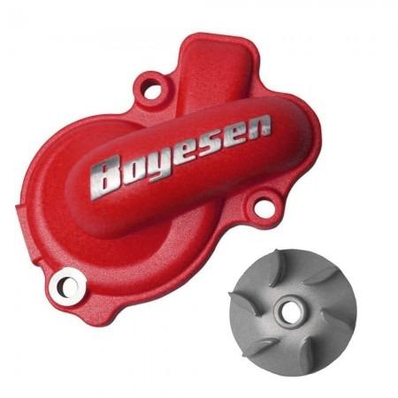 Kit De Bomba D ´ água Boyesen Crf 450 02 / 08 - Vermelha