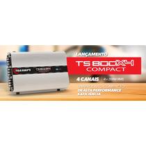 Modulo Taramps Ts800 4 Canais - 800 Watts Rms - 2 Ohms