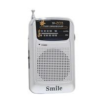 Rádio Portátil Am/fm Smile Tp203 A Pilha