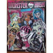Álbum Figurinha Abril Monster High 2013