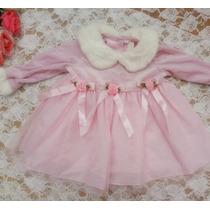 Vestido Infantil Festa Princesa Saia Tule Importado Luxo